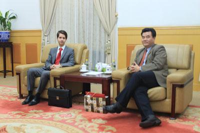 Rencontre avec Dr. CUI, Directeur des études sino-européennes du CIIS, think tank chinois de premier plan sur les relations internationales