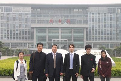 Rencontre avec M. LI Lihong, Vice-Directeur du Service des Affaires internationales, Responsable du Programme sino-français, de l'Université des Sciences Politiques et Juridiques du Sud-Ouest
