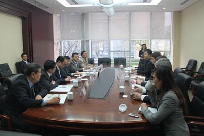 Rencontre avec M. FU Yonglin, Vice-Maire de Chengdu