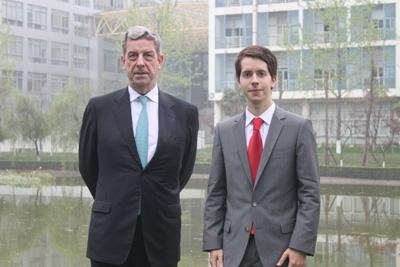 Rencontre avec M. Rousseau, Consul Général de France à Chengdu