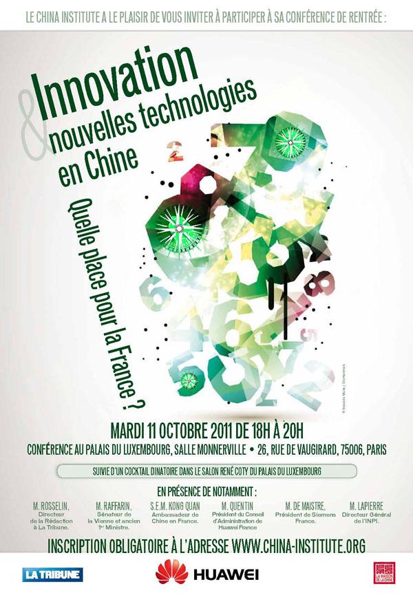 Conférence de rentrée 2011 du China Institute