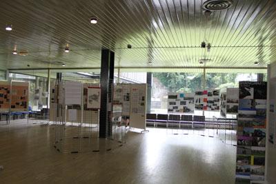 Vision d'ensemble de l'exposition
