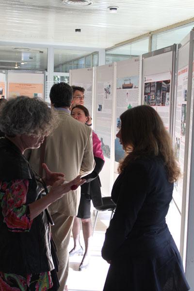 Echange entre participants et artistes